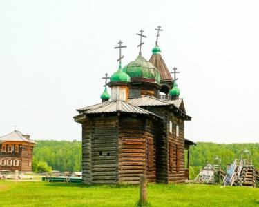 Музей под открытым небом Тальцы